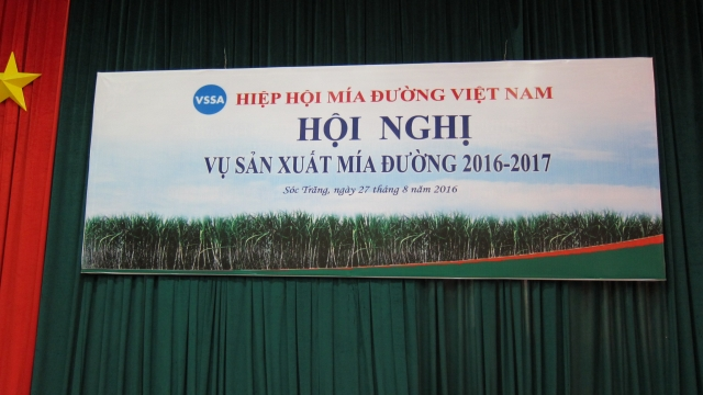 Hội nghị Vụ sản xuất mía đường 2016-2017