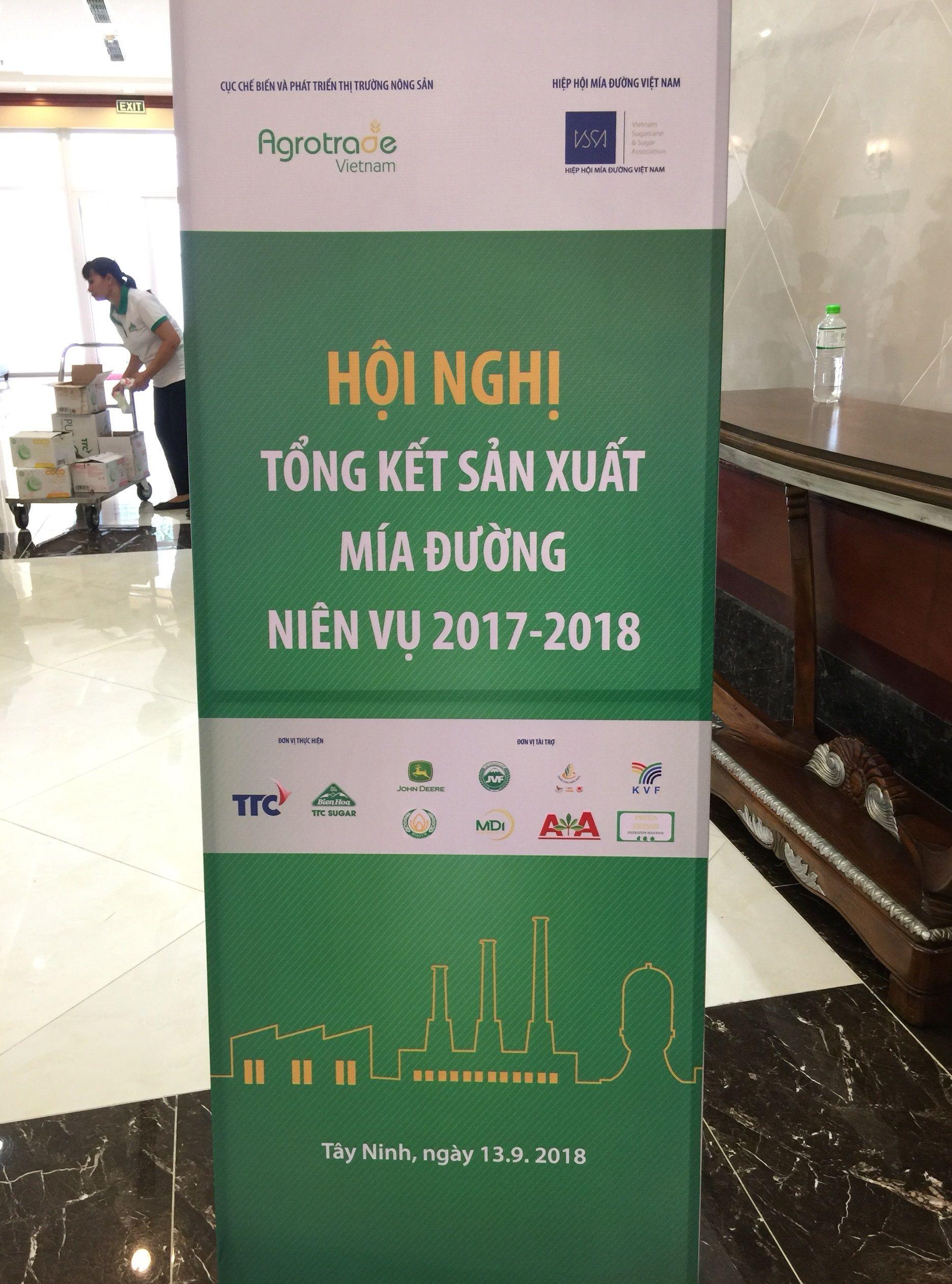 Hội nghị tổng kết sản xuất mía đường niên vụ 2017-2018
