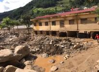 Chung tay chia sẻ thiệt hại mưa lũ cùng đồng bào Mù Cang Chải, Yên Bái