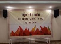 Tất Niên 2018 - Chi nhánh Tp. HCM